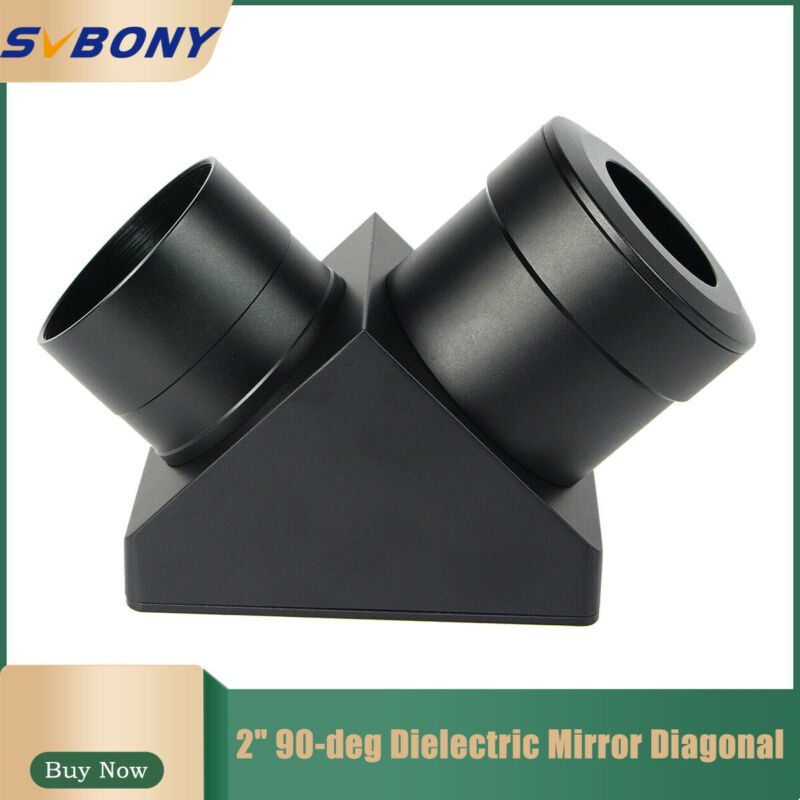 2inch 90° Dielectric Mirror Diagonal Telescopes Pars for Astronomical Telescope