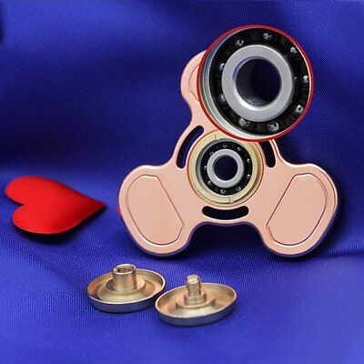 (Beats Nomad Pro Q1 Copper Fidget Spinner Ultra High Speed 5-8 Min Spins )