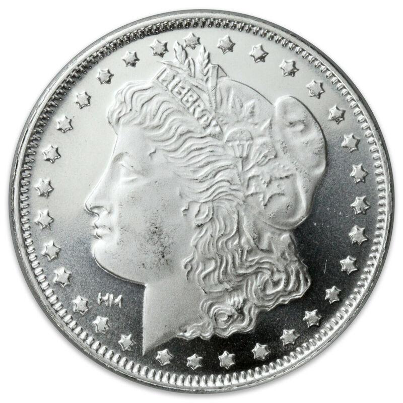 Morgan .999 Silver 1 oz. Round Bullion, 2 or more for $26.00/ea