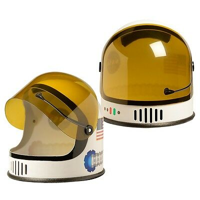 Astronaut Helmet Kids Space Suit Costume Accessory Halloween Fancy Dress