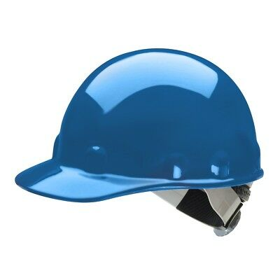 Fibre-Metal Cap Style Hard Hat with SwingStrap Ratchet Suspension, Blue (Metal Cap Style Hard Hat)