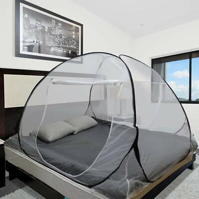 Moskitonetz- Zelt für Betten insektenschutz, mit 2 Eingängen, 200 * 180 * 145CM