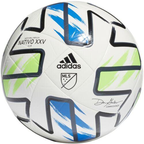 NEW Adidas MLS NATIVO XXV CLUB SOCCER BALL FH7316