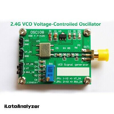 Source Microwave Voltage Controlled Oscillator Signal Generator2.4g 2300-2485mhz