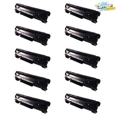10pk Ce278a Toner Cartridges For Hp 78a Laserjet Pro P160...