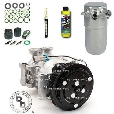 New AC Compressor Kit Fits 1996   2000  GMC K3500 All Engines