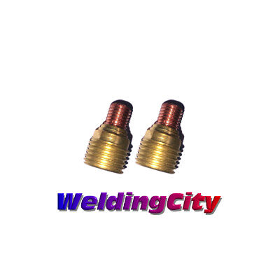 2-pk Tig Welding Gas Lens Collet Body 45v43 116 Torch 920 Us Seller Fast Ship