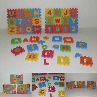 Puzzlematten 72 +x Teile - Kinderpuzzle Spielmatte Puzzle Baumatten