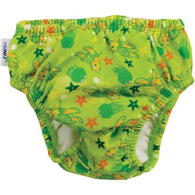 FINIS Reusable Swim Diaper - Turtle Green ()