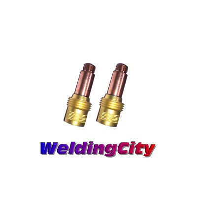 2-pk Tig Welding Gas Lens Collet Body 45v25 116 Torch 171826 Us Seller Fast