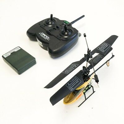 New Esky 2.4G Nano RTF 4 Channel Mini Helicopter Yellow RC Remote Control - USED](4 Channel Helicopter)