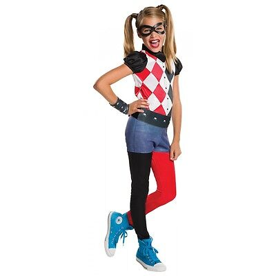 Harley Quinn Costume DC Super Hero Girls Halloween Fancy Dress](Harley Quinn Halloween Costume)