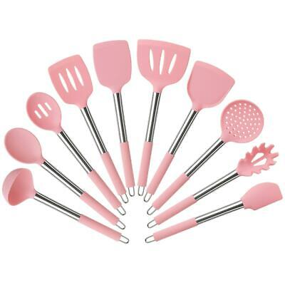 10 piece silicone kitchen utensil cooking baking