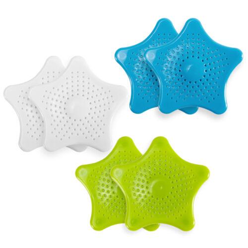 2 x Badwanne Dusche Sieb Schmutzfänger Abflusssieb Ablaufsieb Haarsieb Filter