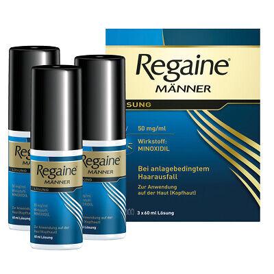 REGAINE MAENNER Lösung 3x60ml PZN:03671166