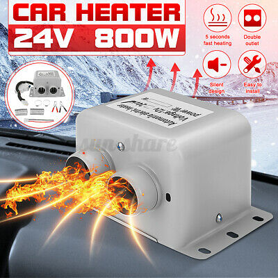DC 24V 800W Portable Car Ceramic Heating Heater Fan Window D