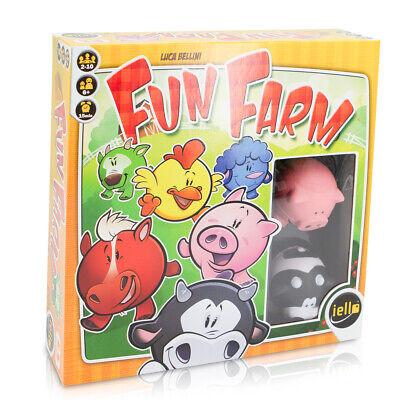 IELLO Fun Farm Animal Card Game For Kids Boys Girls Plush Toys Party Supplies