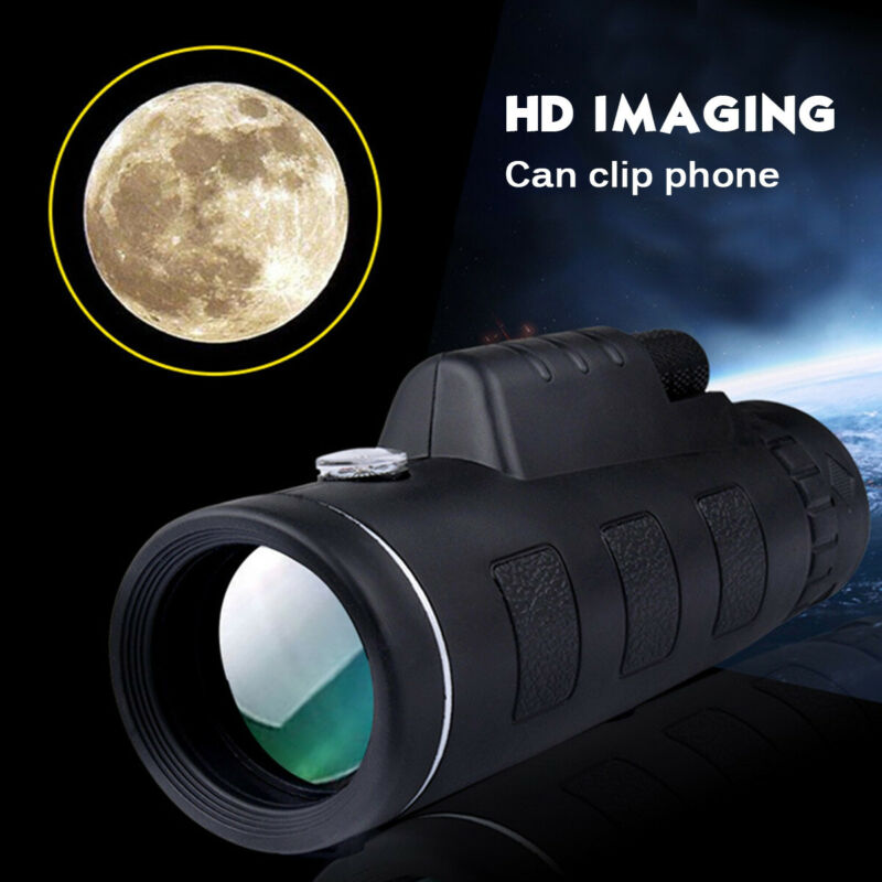 HD Monocular Starscope Phone Camera Zoom Lense W/Bag Phone Telescope USA