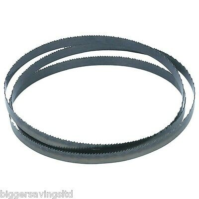"""3 pack - 1400mm 1/4"""" 3/8"""" 1/2""""  BANDSAW BLADE FOR WORKZONE 350W Band Saw"""