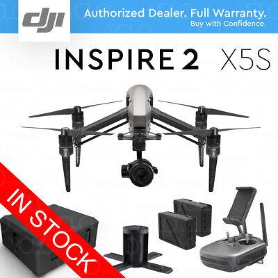 DJI INSPIRE 2 Camera Drone w/ Zenmuse X5S 4K & 5.2K Video...