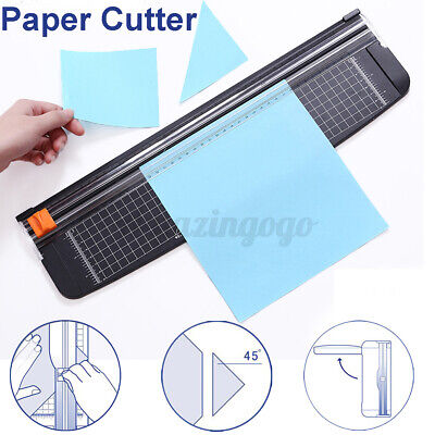 A3 Precision Rotary Guillotine Paper Photo Trimmer Cutter Home Office Tool