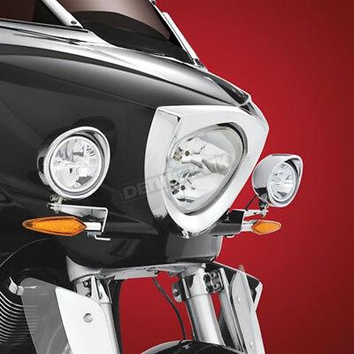 Show Chrome Chrome 3 1/2 in. Cree LED Driving Light Kit - 30-110L
