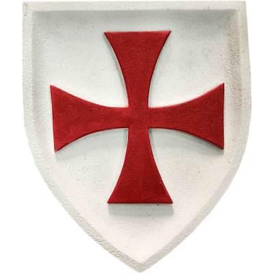 Wandbild bunt Templer Kreuzritter Tatzenkreuz