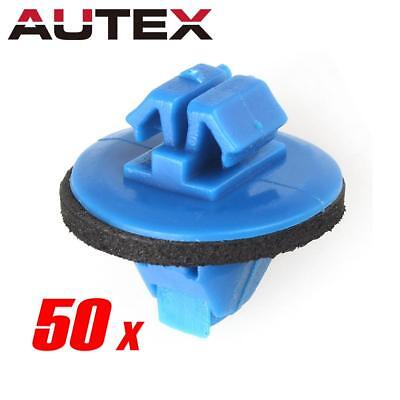 50 Door Panel Moulding Plastic Clips Fasteners Retainer With Sealer for Toyota