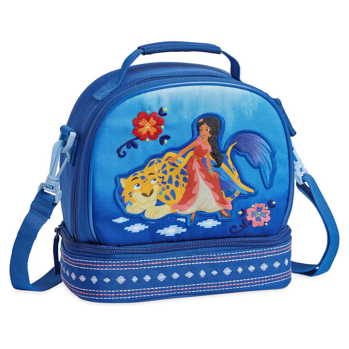 Disney Store Elena of Avalor Princess School Lunch Tote Bag