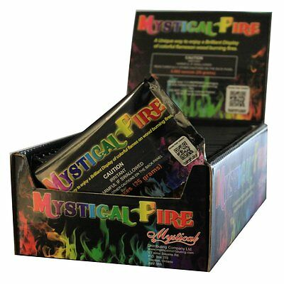 Mystical Fire Flame Colorant, 50-Count Pouch Box - Fire & Flames