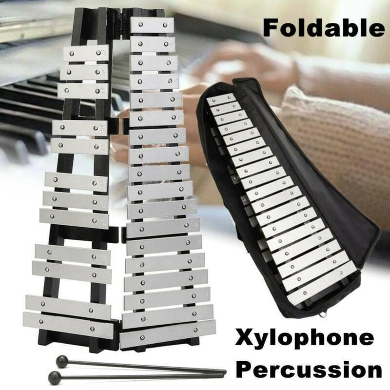 Glockenspiel 30 metall Klangplatten chromatisch Schlaginstrument Mit Tasche