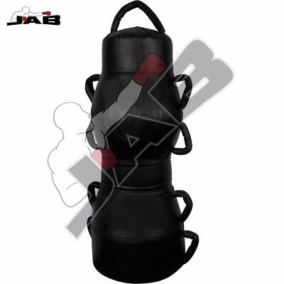 Jabsports MMA Ground and Pound Floor Bag Grappling Dummy Training Equipment 47'' (Wrestling Equipment Bag)