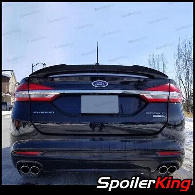 SpoilerKing 284FC (Fits: Fusion 2013-on) Rear Add-on Gurney Flap for OE spoiler