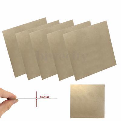 1x Durable Titanium Ti Titan Ta2 Gr2 Thin Plate Sheet Foil 100x100x0.5mm