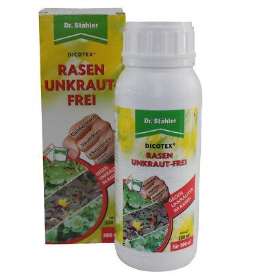 Dicotex 500ml Rasen Unkrautfrei Unkrautex für Rasen Unkrautvernichter Grünfläche