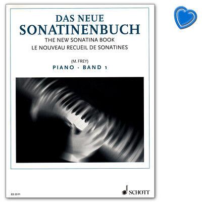 Das neue Sonatinenbuch Band 1 für Klavier - Schott Music  ED2511 9790001037938