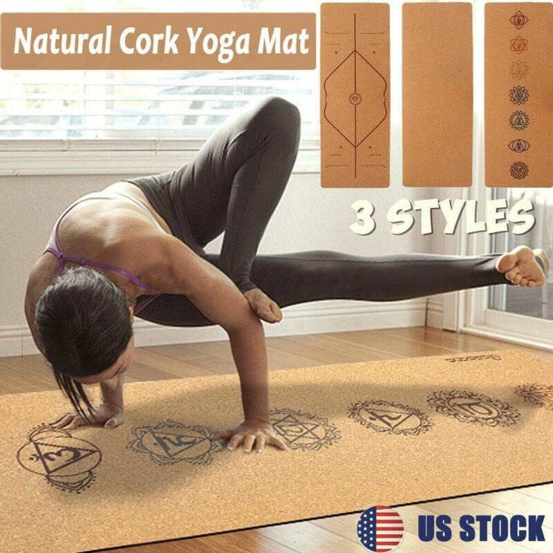 life energy 5mm ekosmart cork yoga mat