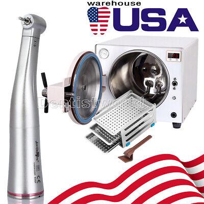 18 L Dental Medical Autoclave Steam Sterilizer Kavo 15 Contra Angle Handpiece