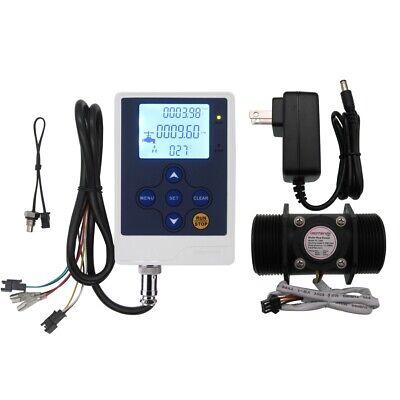 Digital Lcd Flow Meter Water Flow Control1.5 Inch Flow Sensor Hall Sensor Meter