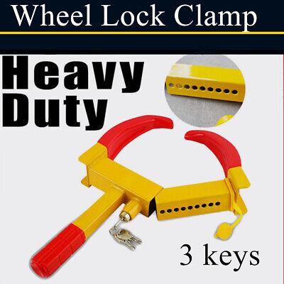 Wheel Lock Clamp Boot Tire Claw Trailer Auto Car Truck Parts
