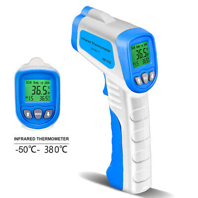 Body Thermometer Laser Infrared Forehead Temperature Fever Gun Baby Non-contact