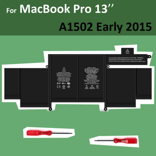 "Genuine OEM A1582 A1502 Battery for Apple MacBook Pro Retina 13"" Early 2015 NEW"