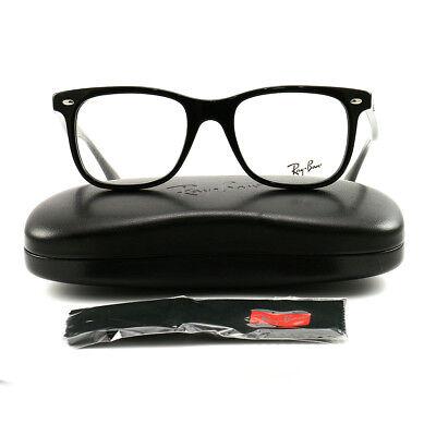 Ray-Ban RX Highstreet Framed Prescription Eye Glass Shiny Black 51 RX5248-2000