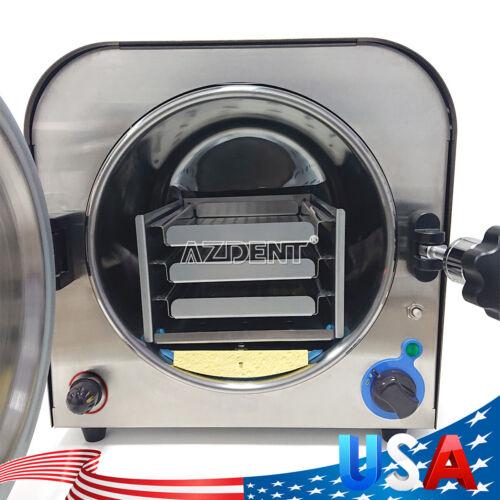 Dental Autoclave Steam Sterilizer Medical sterilizationlab equipment 14L