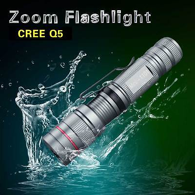 Penlight Cree Q5 LED Portable Aluminum Flashlight Tactical Flashlights 2000LM