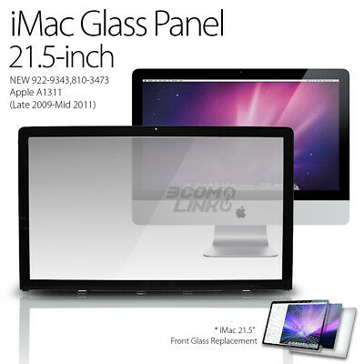 "New Apple iMac 21.5"" Glass Screen Panel A1311 922-9795 810-3553 2009 2010 2011"