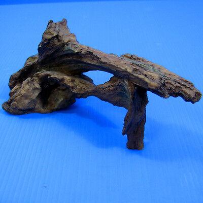 "Driftwood 6"" Aquarium Ornament - Tree trunk Decor root Decaying FISH TANK"