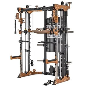 FUNCTIONAL TRAINER POWER RACK SMITH MACHINE 270PT BY BRUTEFORCE