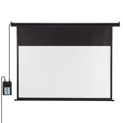 """100"""" 16:9 Electric Motorized Projector Screen Home Theater O"""