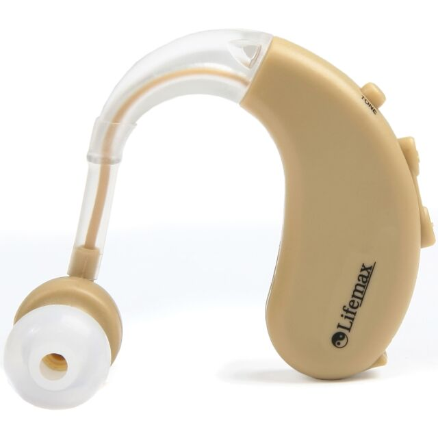 Lifemax Behind Ear Medically Approved Hearing Amplifier Aid - Class IIa Medical